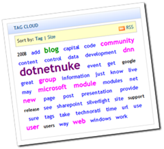 DNN Univeral Tag Cloud