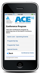 Maxiom Technology Mobile Conferences Web Application for Personify