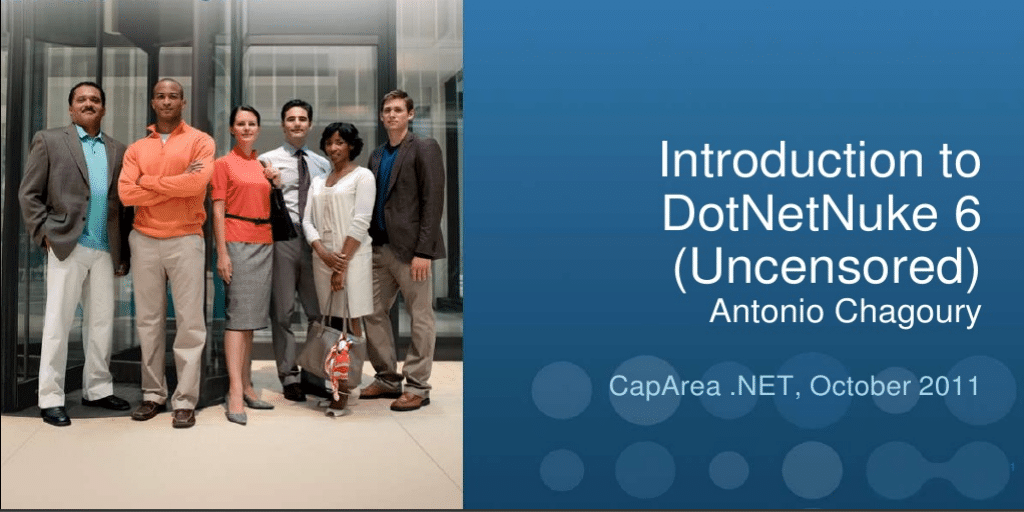 introduction to dotnetnuke 6 slides on slideshare
