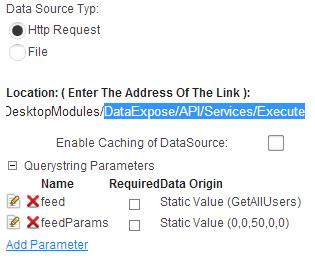 DataExpose-xmlModule