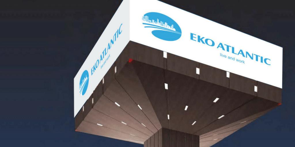 eko atlantic website redesign
