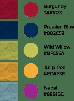 Color Palette & Texture